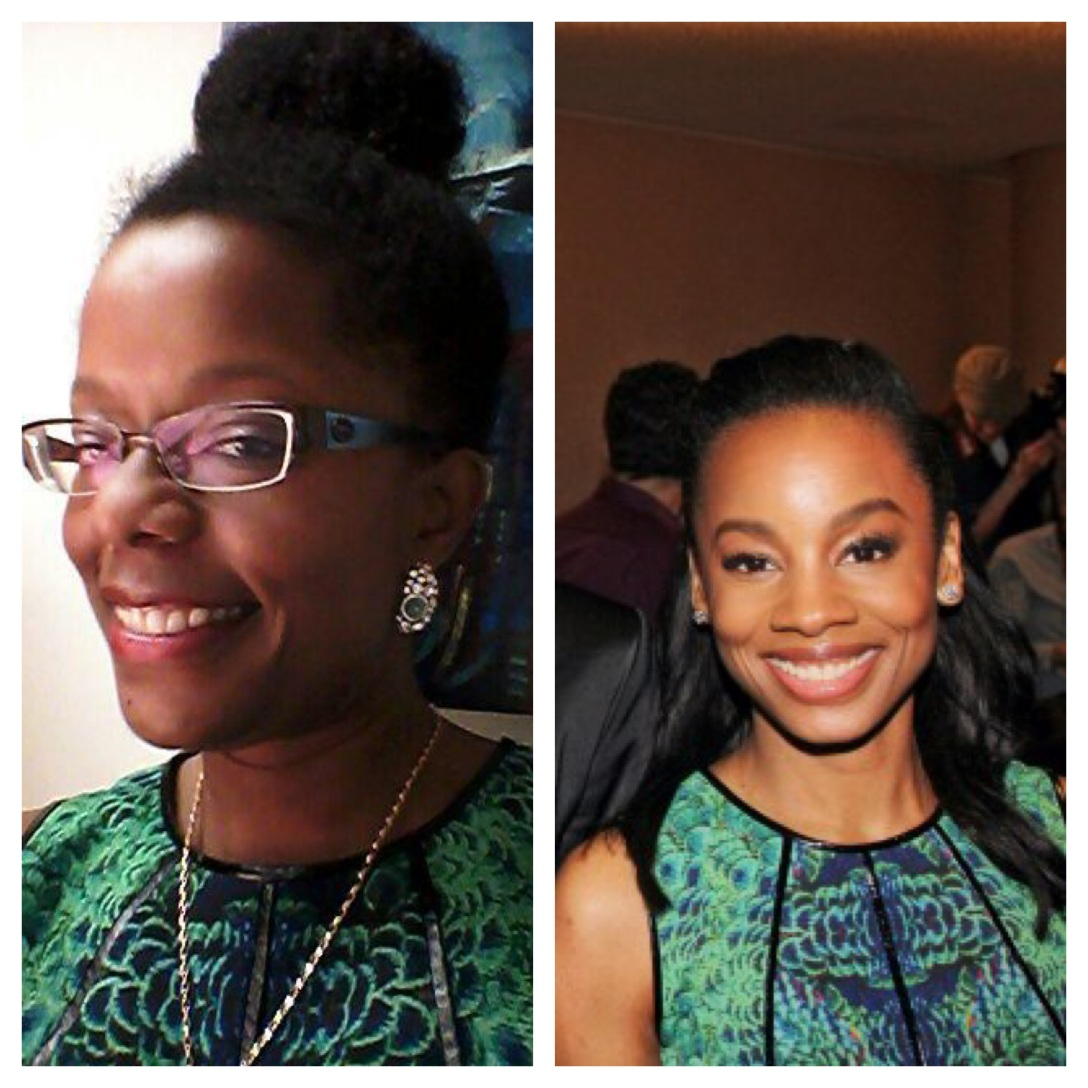 The Lure of a Green Dress in Spring @AnikaNoniRose @CynthiaSteffe #fashion #style