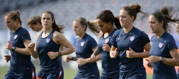 USWNT Training