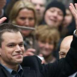 Matt Damon, Your Cracks Are Showing