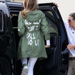 Melania, Did You Forget that You're First Lady?